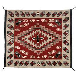 """Navajo Ganado Weaving, 7'8"""" x 6'8"""""""