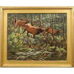 Tom Beecham, oil on canvas