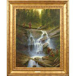 Doug Hall, oil on canvas