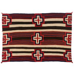 Navajo Third Phase Chief's Blanket, 5' x 3'8""