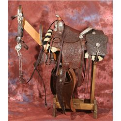 Edward H. Bohlin Silver Mounted Parade Ensemble