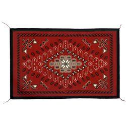 "Navajo Weaving, 4'10' x 3'2"", Genevieve Shirley"