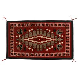"Navajo Weaving, 3'7' x 2'1"", Genevieve Shirley"