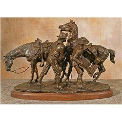 Earle E. Heikka, bronze