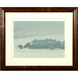 Russell Chatham, lithograph, artist's proof