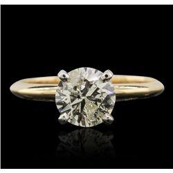 14KT Yellow Gold 1.29ctw Diamond Ring
