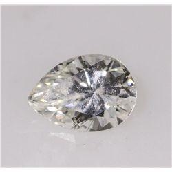GIA Certified 0.50ct Pear Cut Loose Diamond