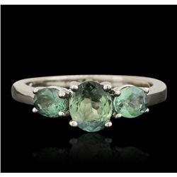 14KT White Gold 1.44ctw Alexandrite Ring