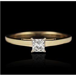 14KT Yellow Gold 0.25ct Diamond Ring