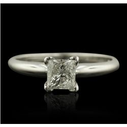 14KT White Gold 0.75ct Diamond Ring