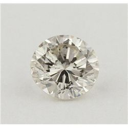 GIA Certified 0.46ct SI-1/J Round Cut Loose Diamond