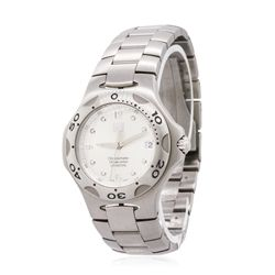 Gents Stainless Steel Tag Wristwatch