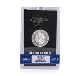 1881-CC $1 MS64 Morgan Silver Dollar Coin