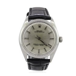 Rolex Stainless Steel Oyster Perpetual Vintage Wristwatch