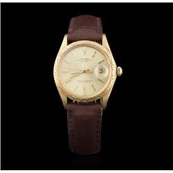 Gents Rolex 18KT Yellow Gold Date model Wristwatch GB1131