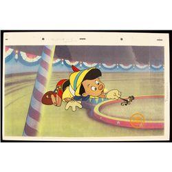"Walt Disney ""Pinocchio"" Ltd Ed Serigraph Cel DisneySeri387"
