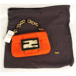 NEW Fendi 'Forever Mama' Mini Baguette Handbag ED1325