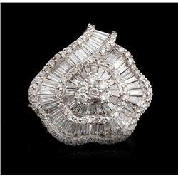 14KT White Gold 1.30 Diamond Ring FJM2389