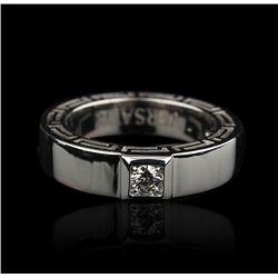 Ladies Versace 18KT White Gold Diamond Ring GB658