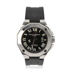 Baume & Mercier Geneve Stainless Steel Wrist Watch GB1324
