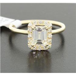 14KT Yellow Gold 1.49tcw Diamond Ring J84