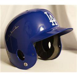 Autographed Duke Snider Helmet 1