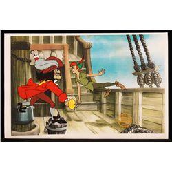 """Walt Disney """"Peter Pan"""" Serigraph Cel DisneySeri300"""