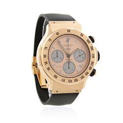 Hublot 18KT Rose Gold Super B Flyback Chronograph Wristwatch A4025