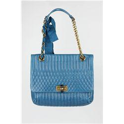 """New Lanvin """"Happy"""" Lambskin Sholder Handbag ED1398"""