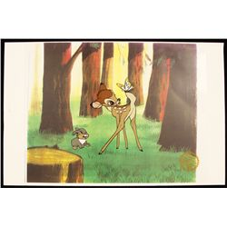 "Walt Disney ""Bambi"" Ltd Ed Serigraph Cel DisneySeri411"