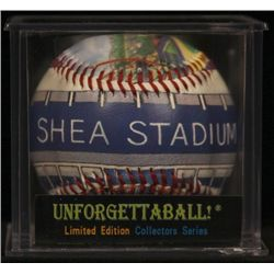"Unforgettaball! ""Shea Stadium"" Collectable Baseball"