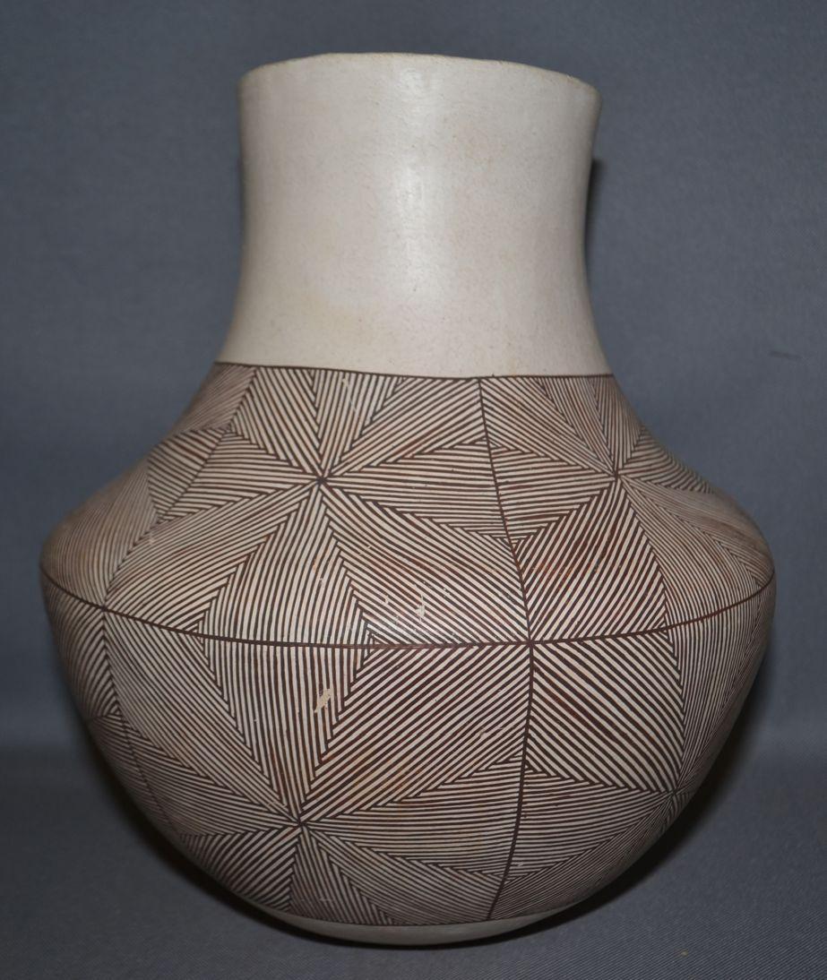 Acoma Pottery Jar R G Munn Auction Llc