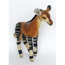 """A Steiff Okapi, 10"""" high"""