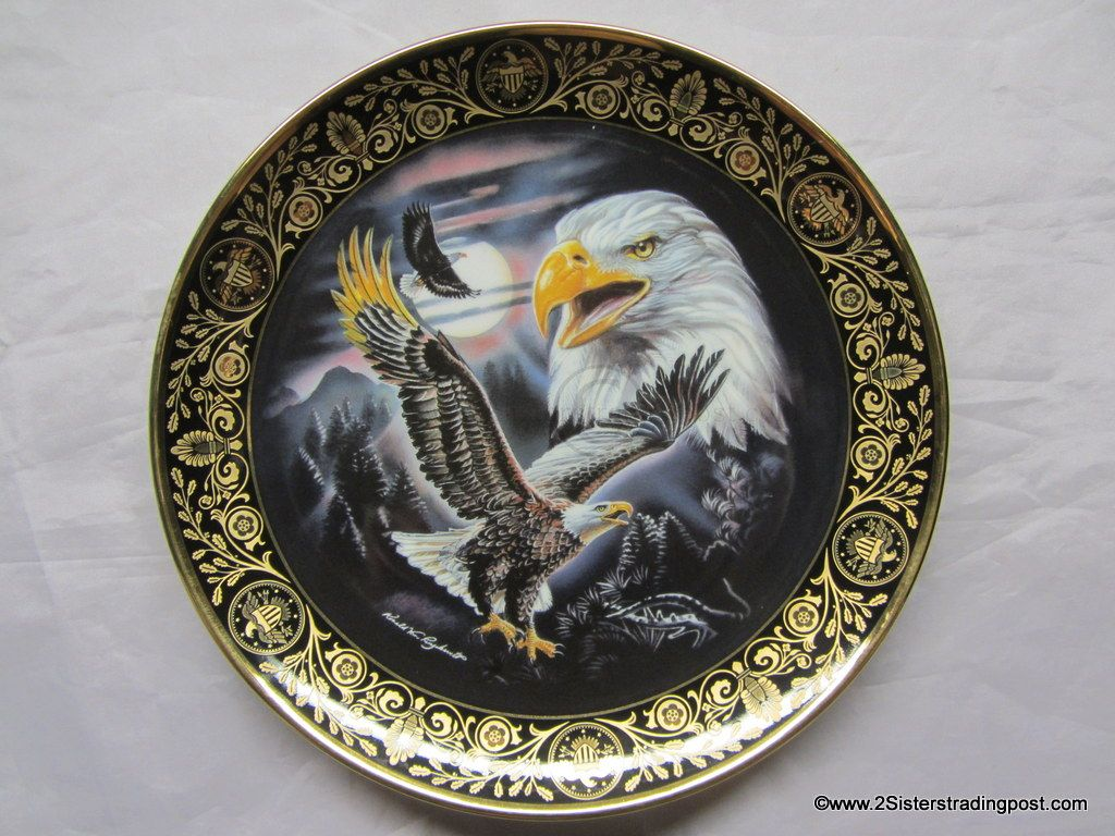 Choose ONE OR MORE Plates FREEDOMS FOUNDATION Valley Forge Royal Doulton Plate