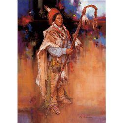 Pa-Bon/Kiowa Medicine Lance by Andersen, Roy