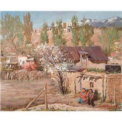 Springtime, Santa Fe by Hullenkremer, Odon