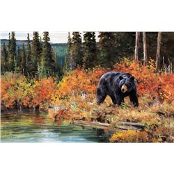 Tangle of Color - Black Bear by Carlson, Ken
