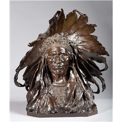 Chief Black Bird, Ogalalla Sioux by Weinman, Adolph Alexander