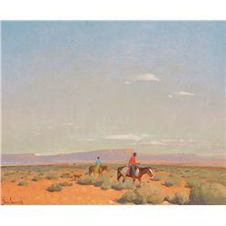 Desert Riders by Delano, Gerard Curtis