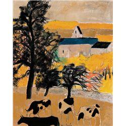 La Vache Noir by Brasilier, Andre