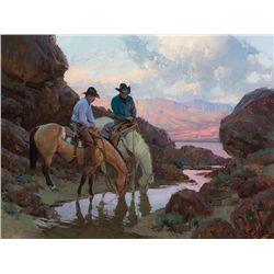 Near Canyon Lake by Anton, Bill