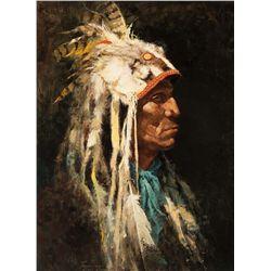 Medicine Man by Terpning, Howard