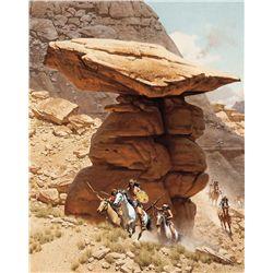 Under Balanced Rock by McCarthy, Frank