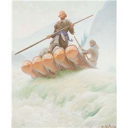 Mountain Men by Delano, Gerard Curtis