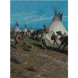 Horse Raid, 1978 by Lovell, Tom