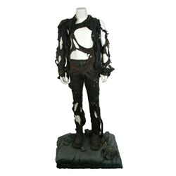 Terminator Salvation Marcus After Bombing Outfit On Custom Display Stand
