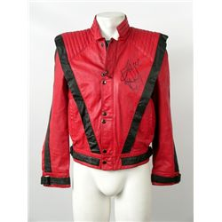 Thriller Jacket Signed Michael Jackson