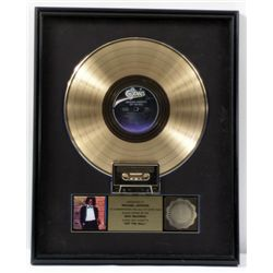 """Michael Jackson RIAA  """"Off The Wall"""" Gold Record"""