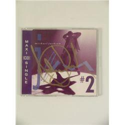 Michael Jackson Signed Jam Dance Mixes CD