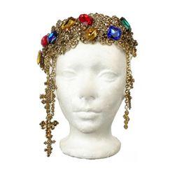 Lady Gaga Jeweled Crown Judas Video by Harutunian